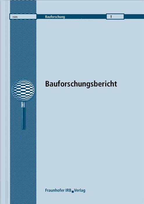 Messung des tiefenabhängigen Feuchtegehaltes. Ergänzende Untersuchungen. Abschlußbericht | Brameshuber / Cvetkovic / Saenger, 2009 | Buch (Cover)