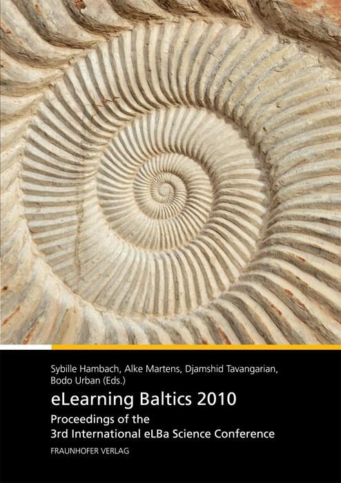 Abbildung von / Hambach / Martens / Tavangarian / Urban   eLearning Baltics 2010   2010