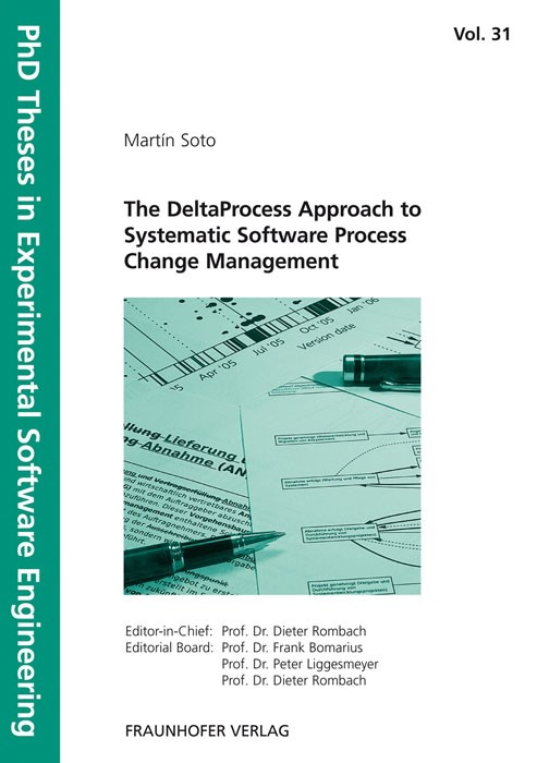The DeltaProcess Approach to Systematic Software Process Change Management | / Rombach / Liggesmeyer / Bomarius, 2010 | Buch (Cover)
