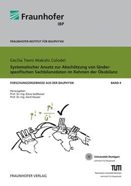 Abbildung von / Sedlbauer / Hauser | Systematischer Ansatz zur Abschätzung von länderspezifischen Sachbilanzdaten im Rahmen der Ökobilanz | 2010 | 4