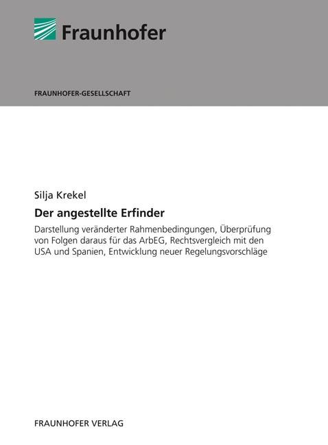 Abbildung von / Kaiser / Zirkel | Der angestellte Erfinder | 2009