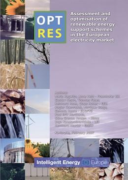 Abbildung von / Ragwitz | OPTRES. Assessment and optimisation of renewable energy support schemes in the European electricity market | 2007