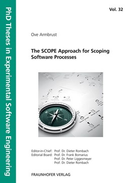 Abbildung von / Rombach / Liggesmeyer / Bomarius | The SCOPE Approach for Scoping Software Processes | 2010 | 32