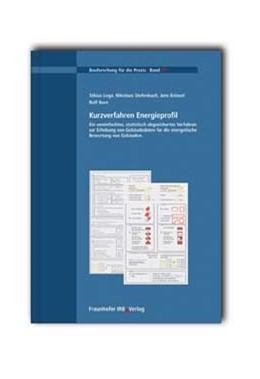 Abbildung von Loga / / Diefenbach | Kurzverfahren Energieprofil | 2005 | Ein vereinfachtes, statistisch... | 72