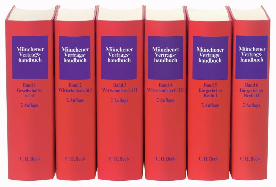 Münchener Vertragshandbuch | 7. Auflage | Buch (Cover)