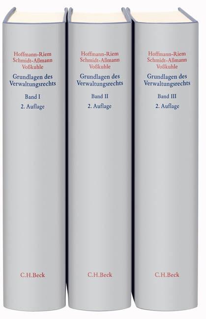 Grundlagen des Verwaltungsrechts | Hoffmann-Riem / Schmidt-Aßmann / Voßkuhle | 2. Auflage | Buch (Cover)