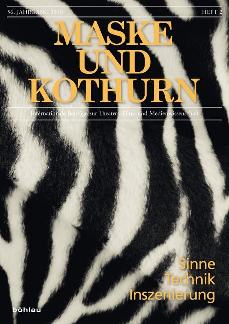 Sinne – Technik – Inszenierung | Braidt / Gruber / Kandioler / Meister / Pias / Stern, 2010 | Buch (Cover)