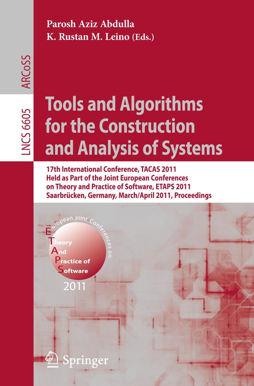 Abbildung von Abdulla / Leino | Tools and Algorithms for the Construction and Analysis of Systems | 2011