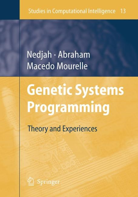 Genetic Systems Programming | Abraham, 2010 | Buch (Cover)