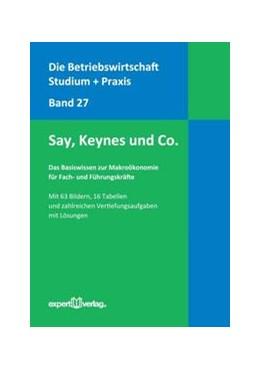 Abbildung von Richter | Das Basiswissen zur Makroökonomie für Fach- und Führungskräfte | 2012 | Say, Keynes und Co.
