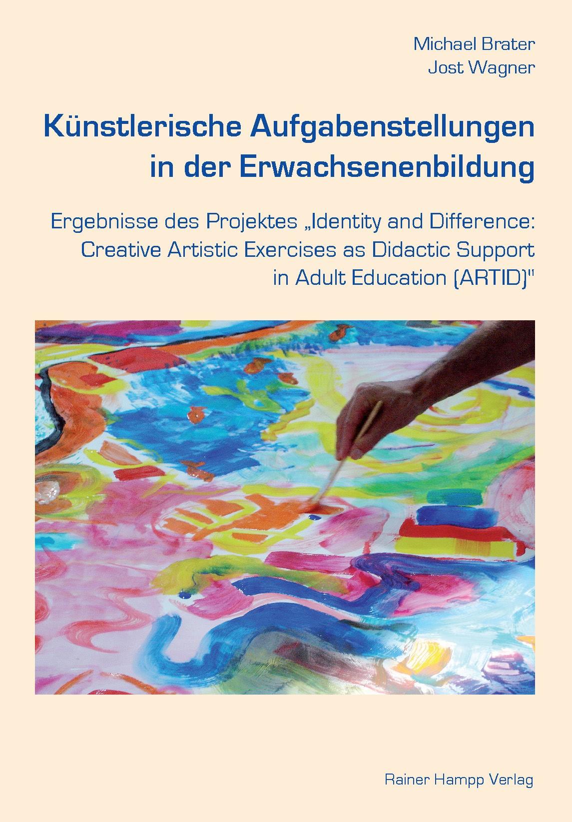 Abbildung von Brater   Künstlerische Aufgabenstellungen in der Erwachsenenbildung   2011