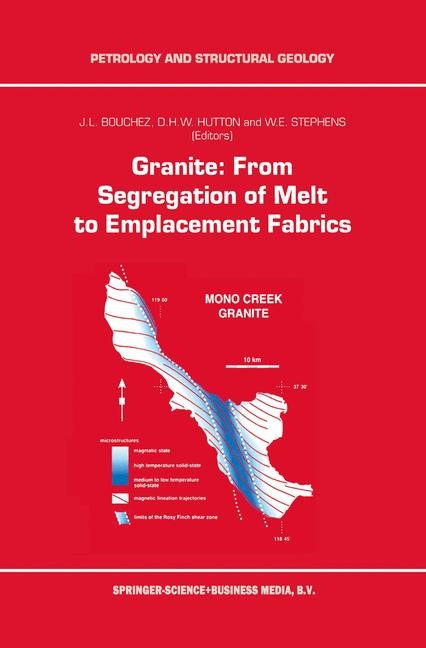 Granite: From Segregation of Melt to Emplacement Fabrics | Bouchez / Hutton / Stephens, 1997 | Buch (Cover)
