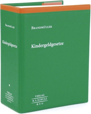 Kindergeldrecht | Brandmüller (Hrsg.) | Loseblattwerk mit Aktualisierungen, 2013 (Cover)