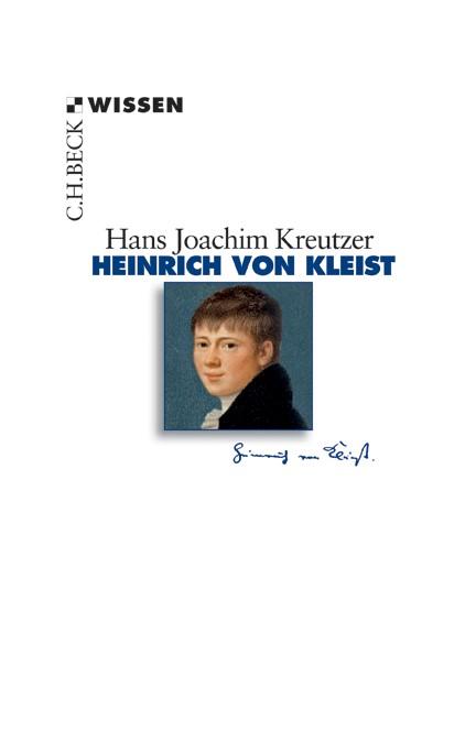 Cover: Hans Joachim Kreutzer, Heinrich von Kleist