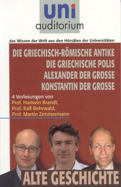 Die griechisch-römische Antike, Die griechische Polis, Alexander der Große, Konstantin der Große | Brandt / Behrwald / Zimmermann, 2011 | Buch (Cover)