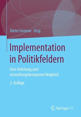 Abbildung von Grunow   Verwaltungshandeln in Politikfeldern   2. Auflage   2017   beck-shop.de