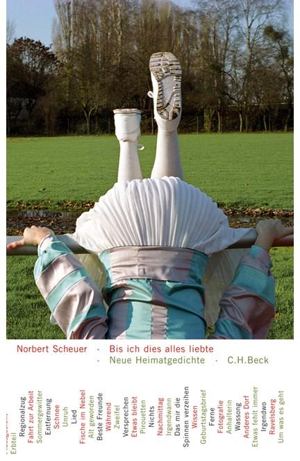Cover: Norbert Scheuer, Bis ich dies alles liebte