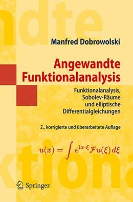 Abbildung von Dobrowolski | Angewandte Funktionalanalysis | 2nd ed. | 2010 | Funktionalanalysis, Sobolev-Rä...