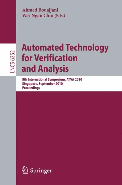 Automated Technology for Verification and Analysis | Bouajjani / Chin, 2010 | Buch (Cover)