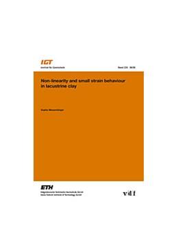 Abbildung von Messerklinger | Non-linearity and small strain behaviour in lacustrine clay | 2006 | 225