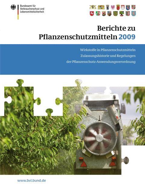 Berichte zu Pflanzenschutzmitteln 2009 | Brandt, 2010 | Buch (Cover)