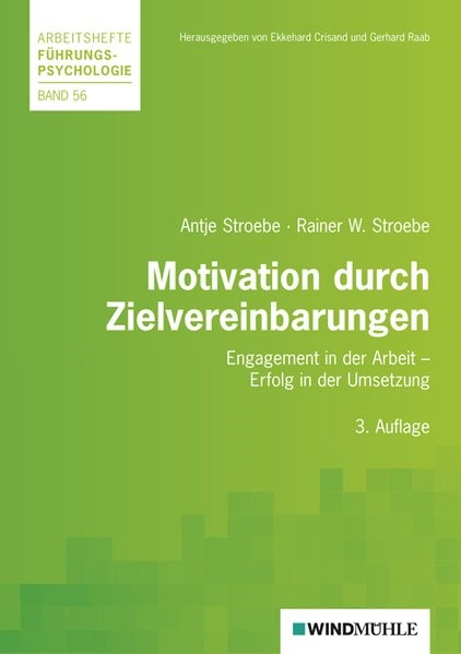 Motivation durch Zielvereinbarungen   Stroebe, 2010   Buch (Cover)