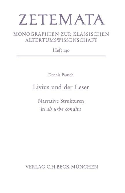 Cover: Dennis Pausch, Livius und der Leser