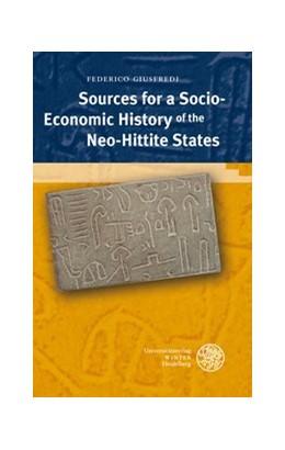 Abbildung von Giusfredi | Sources for a Socio-Economic History of the Neo-Hittite States | 2010 | 28