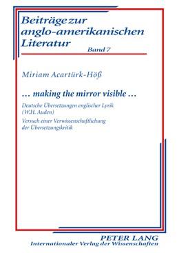 Abbildung von Acartürk-Höß | … making the mirror visible … | 2010 | Deutsche Übersetzungen englisc... | 7