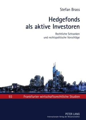Hedgefonds als aktive Investoren | Brass, 2010 | Buch (Cover)