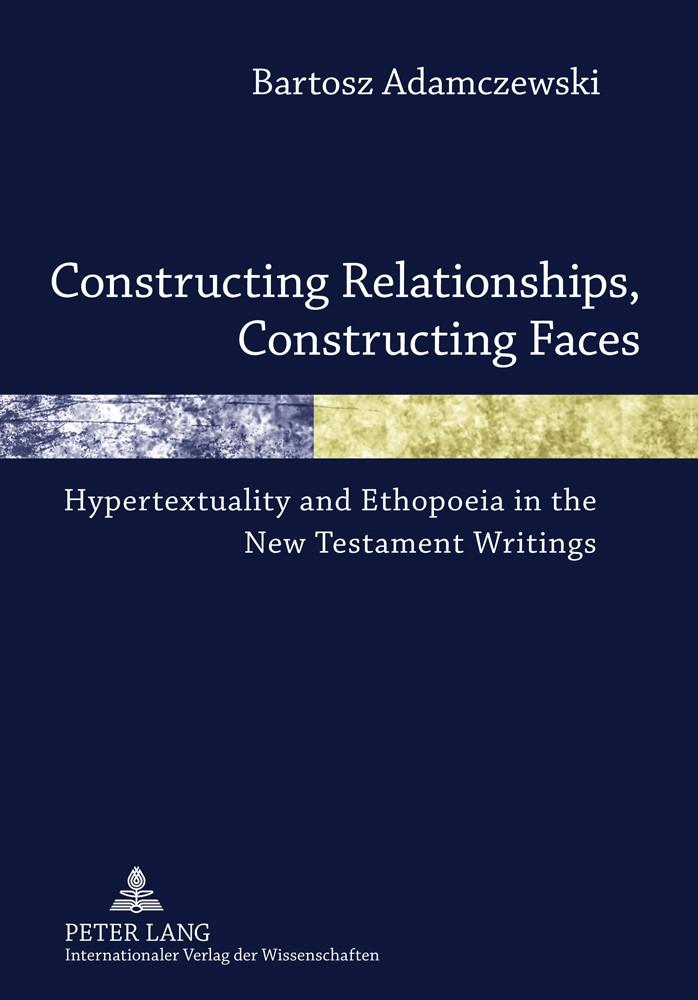 Abbildung von Adamczewski | Constructing Relationships, Constructing Faces | 2011