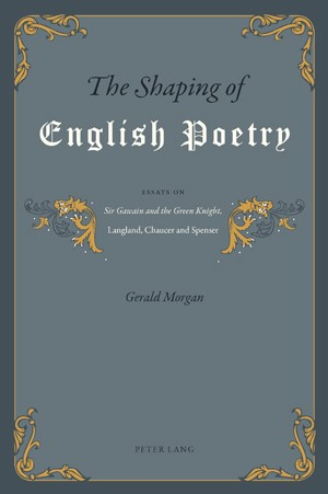 The Shaping of English Poetry | Morgan, 2010 | Buch (Cover)
