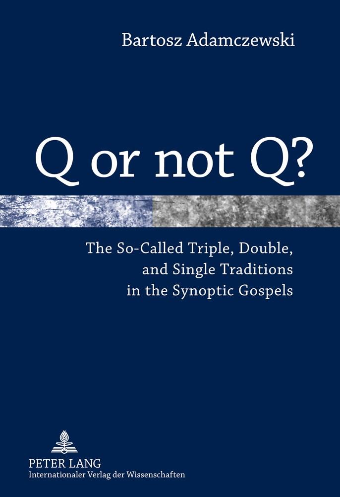 Q or not Q? | Adamczewski, 2010 | Buch (Cover)