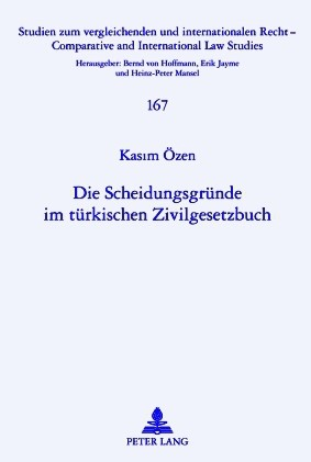 Die Scheidungsgründe im türkischen Zivilgesetzbuch | Oezen, 2010 | Buch (Cover)
