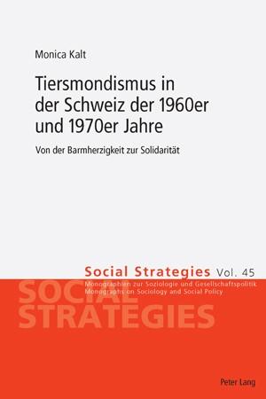Tiersmondismus in der Schweiz der 1960er und 1970er Jahre | Kalt, 2010 | Buch (Cover)