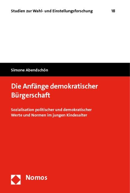Die Anfänge demokratischer Bürgerschaft | Abendschön, 2010 | Buch (Cover)