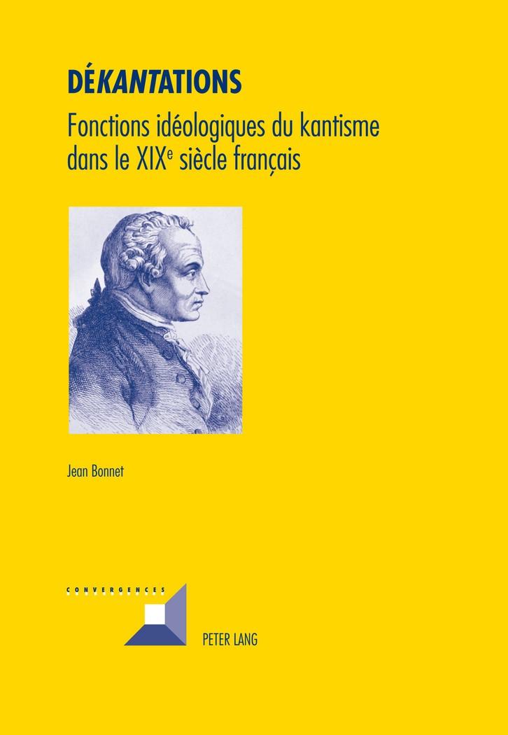Dékantations | Bonnet, 2011 | Buch (Cover)
