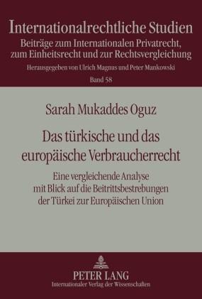 Abbildung von Oguz | Das türkische und das europäische Verbraucherrecht | 2010