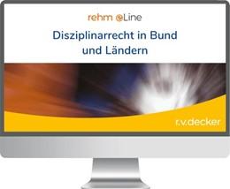 Abbildung von Disziplinarrecht in Bund und Ländern • Online | | Kommentar