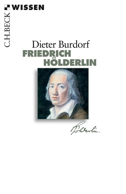 Cover: Dieter Burdorf, Friedrich Hölderlin