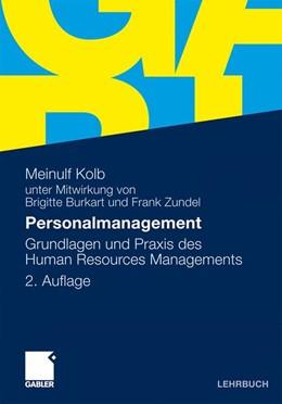 Abbildung von Kolb   Personalmanagement   2., akt. u. überarb.   2010   Grundlagen und Praxis des Huma...