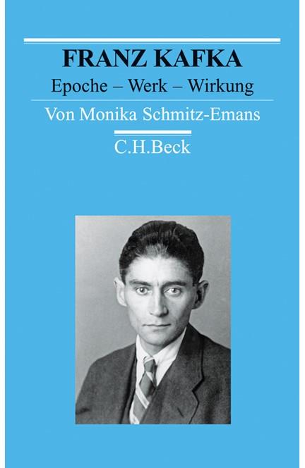 Cover: Monika Schmitz-Emans, Franz Kafka