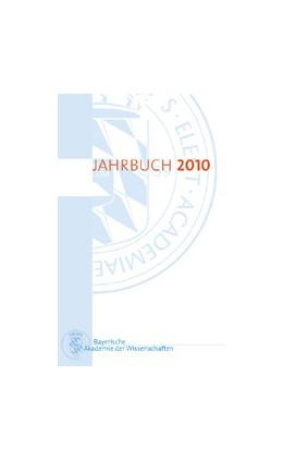 Abbildung von Bayerische Akademie der Wissenschaften | Jahrbuch 2010 | 1. Auflage | 2011 | beck-shop.de