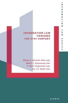 Abbildung von Korthals-Altes | Information Law Towards the Twenty-First Century | 1992