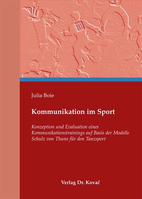 Abbildung von Boie | Kommunikation im Sport | 2011
