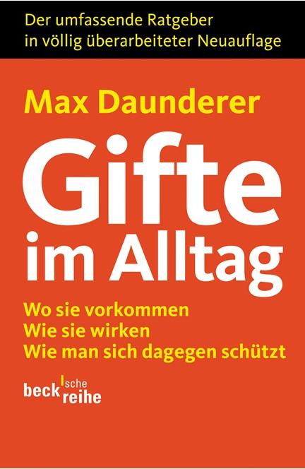 Cover: Max Daunderer, Gifte im Alltag