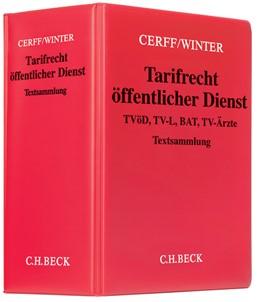 Abbildung von Cerff / Winter | Tarifrecht öffentlicher Dienst | 76. Auflage | 2019 | TVöD, TV-L, BAT, TV-Ärzte