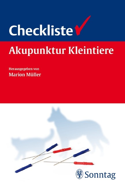 Checkliste Akupunktur Kleintiere | Müller, 2011 | Buch (Cover)