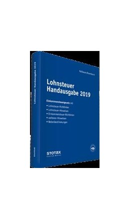 Abbildung von Rosenbaum / Jungblut | Lohnsteuer Handausgabe • Online | 1. Auflage | | beck-shop.de
