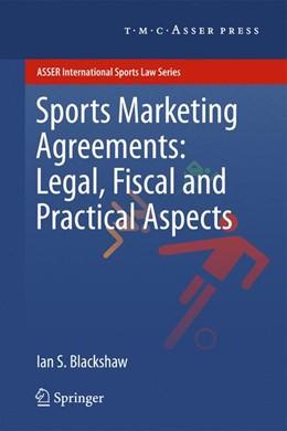 Abbildung von Blackshaw | Sports Marketing Agreements: Legal, Fiscal and Practical Aspects | 2011